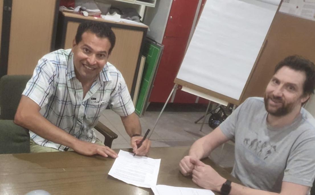 Omid Chaab nieuwe trainer Advendo 1